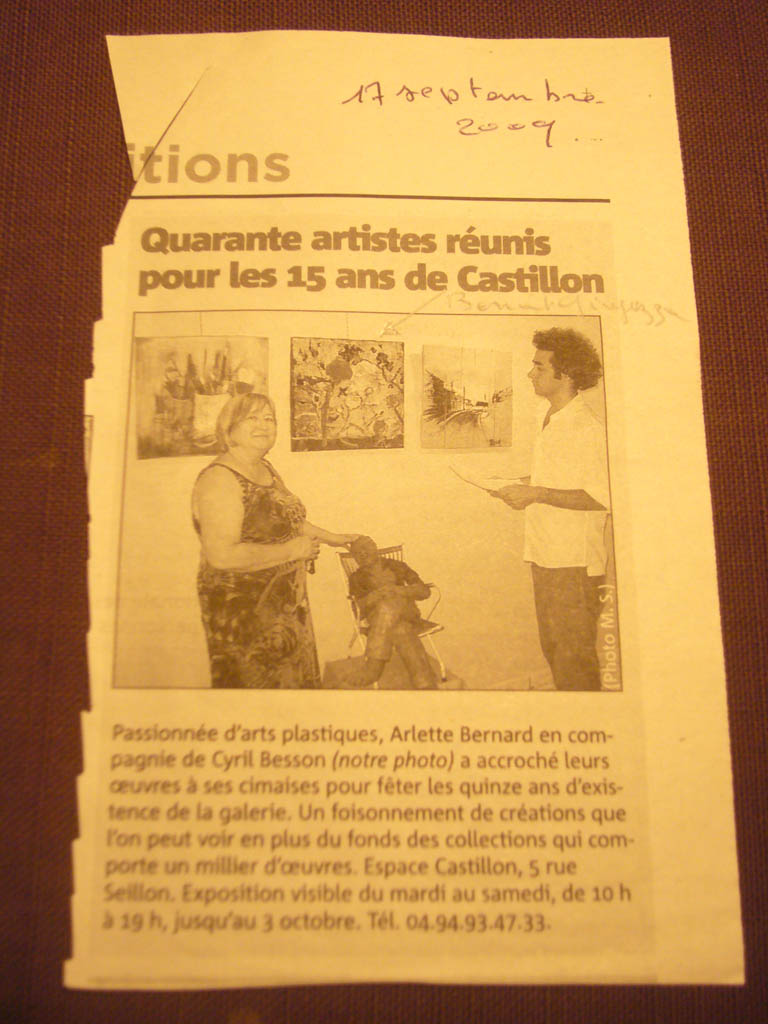 Quarante artiste réunis pour les 15 ans de Castillon