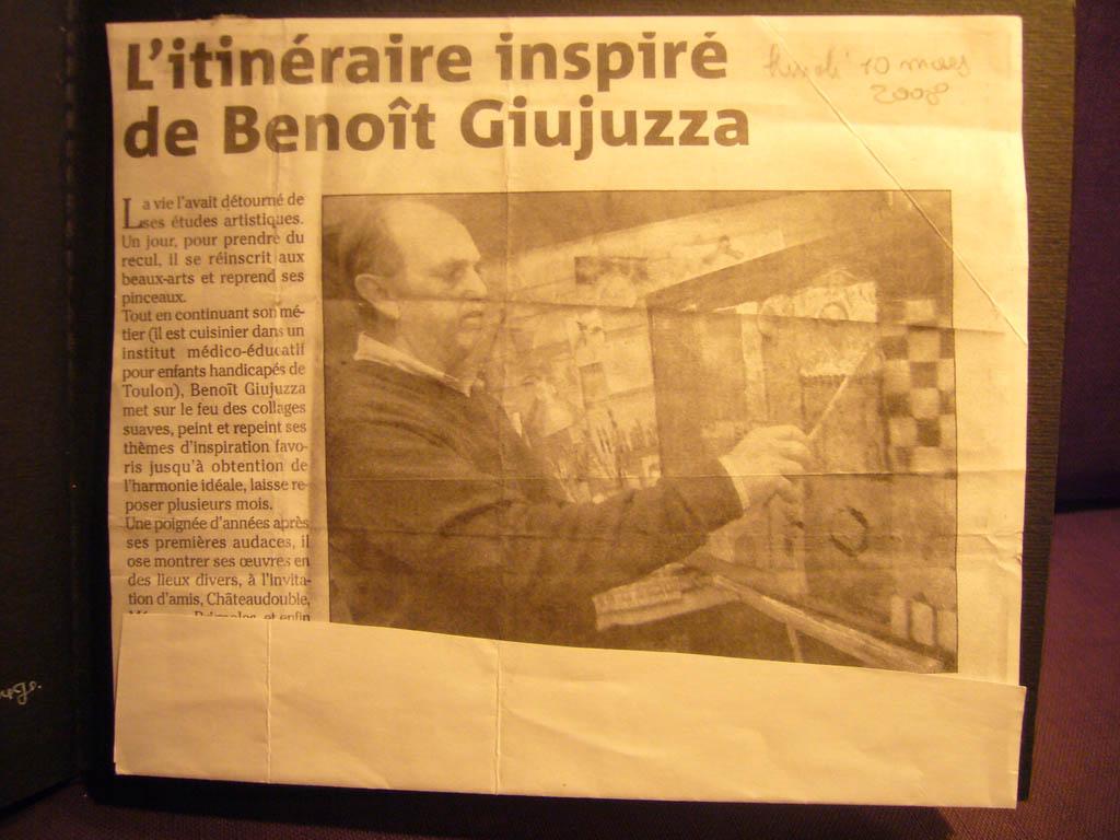 L'itinéraire inspiré de Benoit Giujuzza